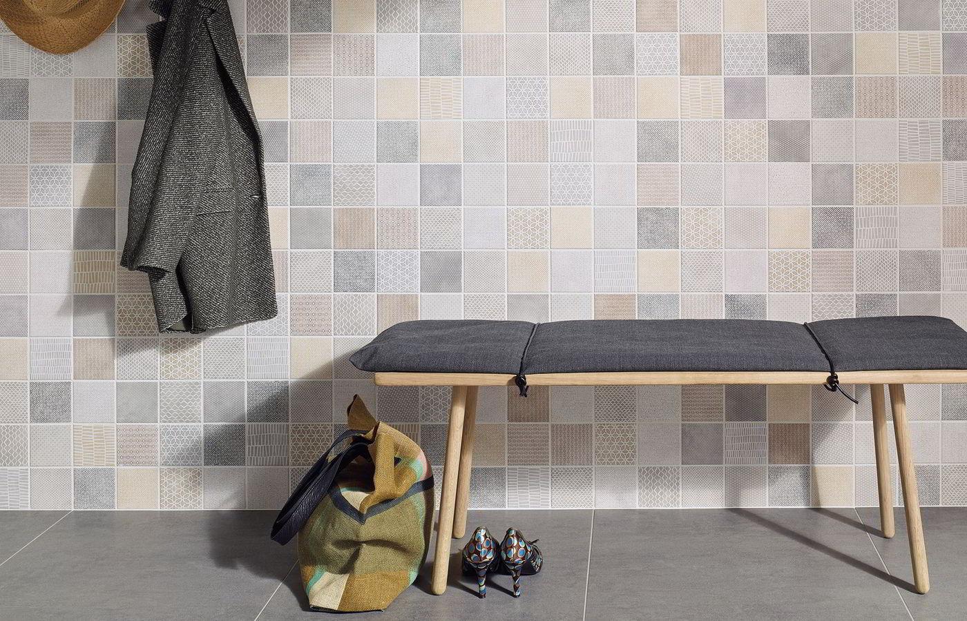 PATTERN Jasba Fliesen Mosaike - Fliesen schachbrett 10x10